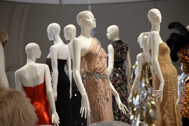 "Courtesy of the Guardian. As usual at the V&A, Ballgowns is a ""No Photography"" exhibition."