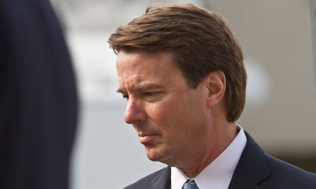 John Edwards arrives at the federal courthouse in Greensboro