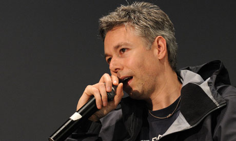 Adam Yauch speaks at the Apple Soho in 2008