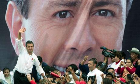 Enrique Pena Nieto campaigns