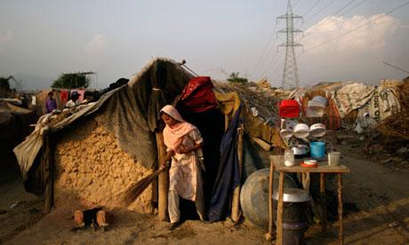 Afghan refugee in Islamabad
