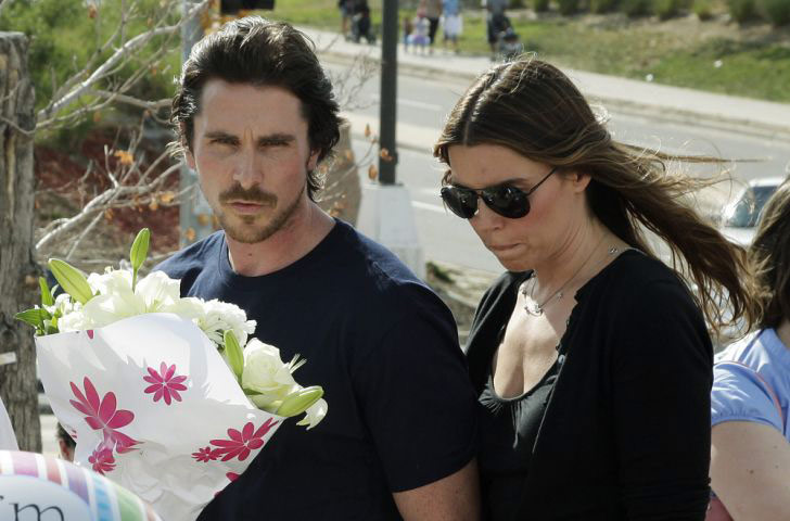 baleaurora: Christian Bale, star of The Dark Knight Rises, and Sibi Blazic in Aurora