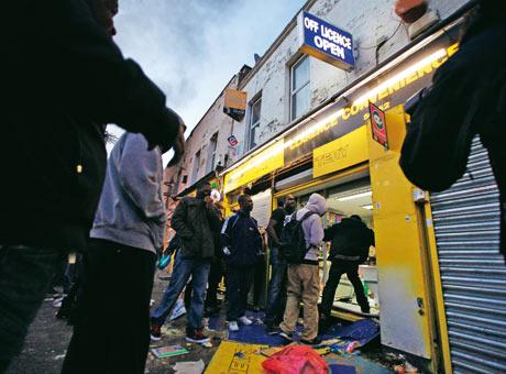 Bystanders: London riots