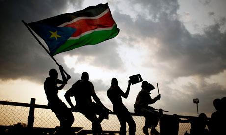 torcedores sudão do sul