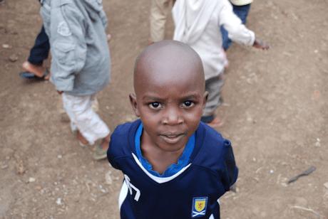 A Kiberan kid