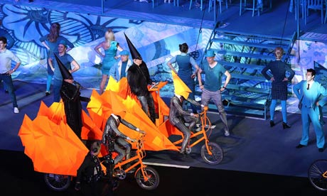 Pet Shop Boys at Olympics closing ceremony