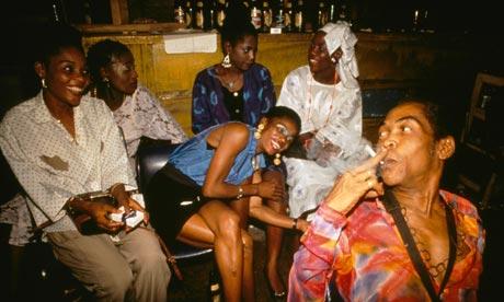 Nigerian Musician Fela Kuti