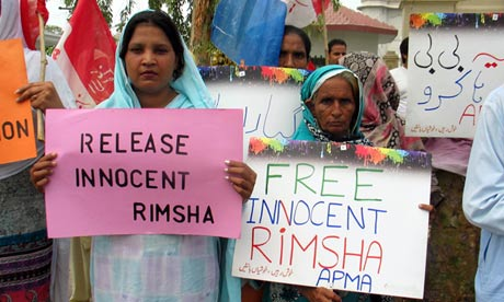 Protests over Christian girl accused of blasphemy