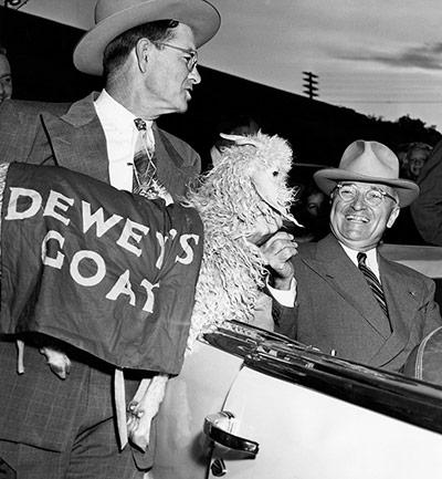 10 best: President Truman Gets Dewey's Goat