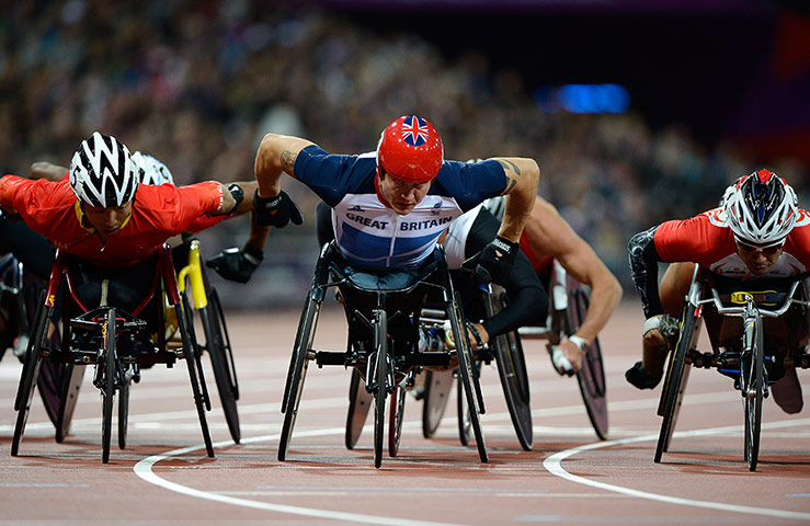 athletics: David Weir