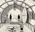 Tolkien's illustration of Bilbo Baggins's home