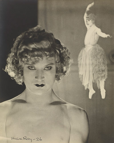 Man Ray Portraits: Barbette, 1926 by Man Ray