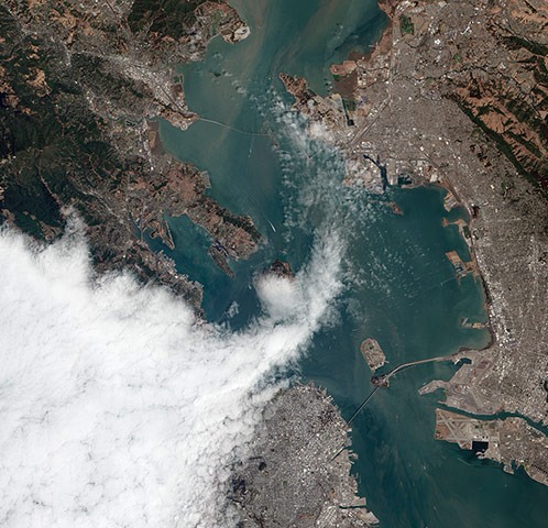 Satellite Eye: Another Foggy Day in San Francisco