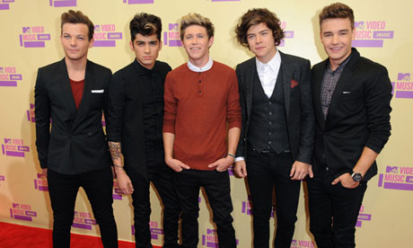 One Direction at the MTV video music awards