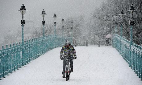 Snow in Scarborough