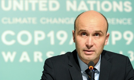 President of the UN Climate Change Conference Marcin Korolec
