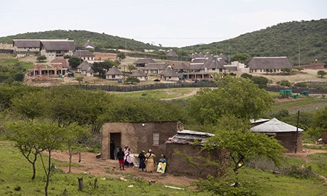 Jacob Zuma's Nkandla home 4/11/13