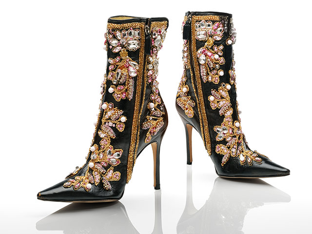 V&A: Italian fashion: Dolce & Gabbana stiletto boots