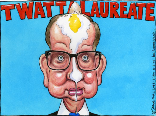 08.02.13: Steve Bell on Michael Gove's U-turn