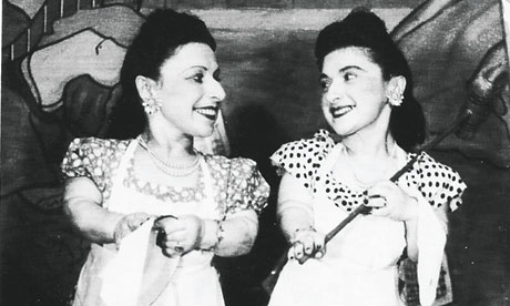 Perla and Elizabeth Ovitz