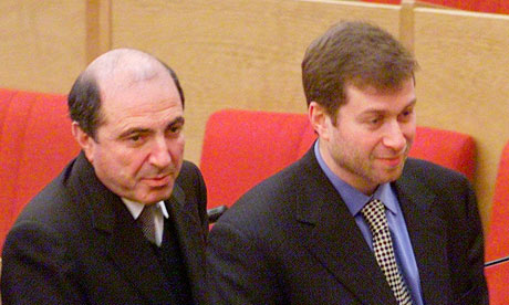 Boris Berezovsky and Roman Abramovich