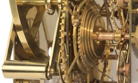 Detail of John Harrison's H3 sea clock