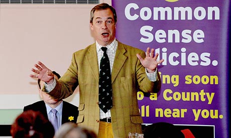Nigel Farage, leader of Ukip