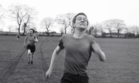 Tom Courtenay in the 1962 film of The Loneliness Of The Long Distance Runner