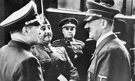 Franco meets Hitler