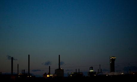 Sellafield nuclear site in Cumbria
