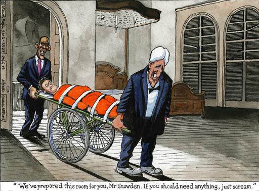 25.06.13: Steve Bell on Guantanamo Bay