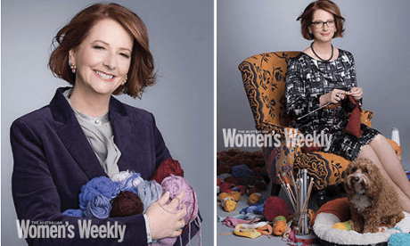 Julia Gillard Women's Weekly