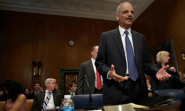 Eric Holder appears before Senate