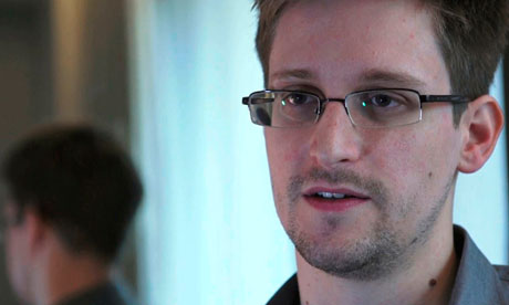 File photo of NSA whistleblower Edward Snowden during interview with The Guardian in Hong Kong