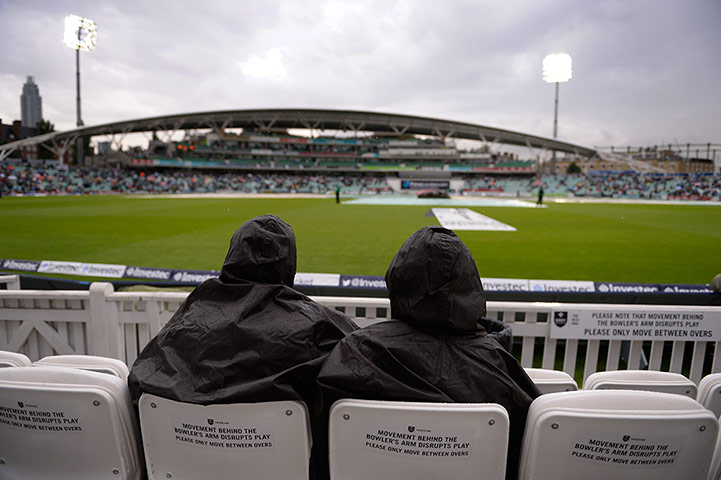 cricket: 5th ashes test day two