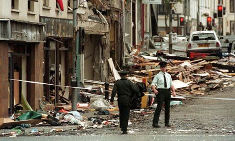 Omagh bombing support group report intelligence