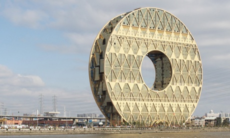 Lucky hole … the Guanzhou Circle symbolises jade discs, lucky numbers and an ancient dynastic insignia.