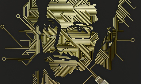 Edward Snowden illustration