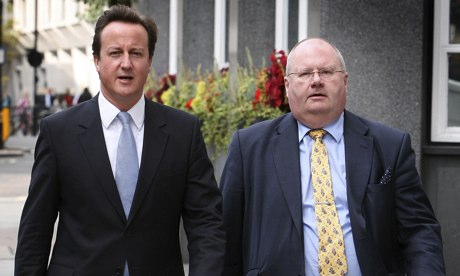 Eric Pickles and David Cameron