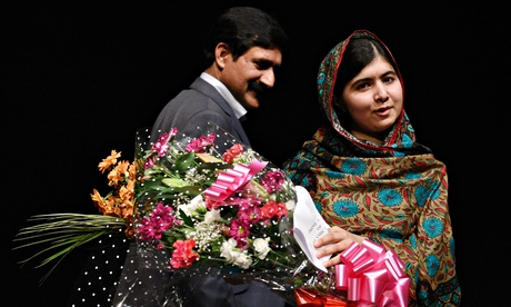 Pakistani rights activist Malala Yousafz