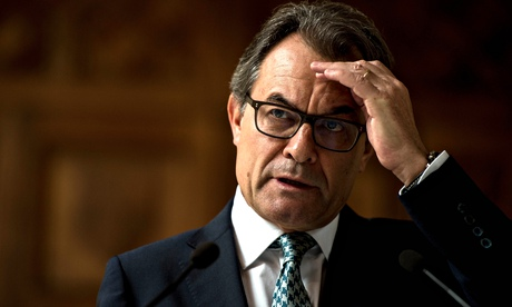 Catalan Leader Artur Mas