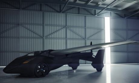 The Flying Roadster – AeroMobil 3.0 - due to be unveiled in Vienna during the Pioneers Festival.