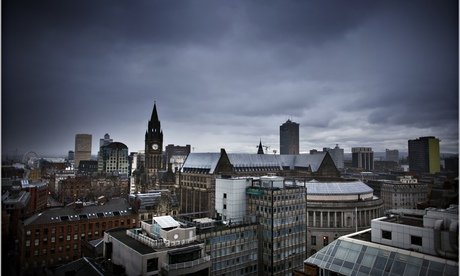 A view over Manchester