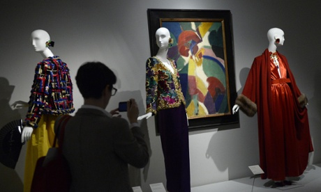 The exhibition, the first major retrospective to be devoted to French fashion designer Hubert de Givenchy, presents a selection of his finest creations.