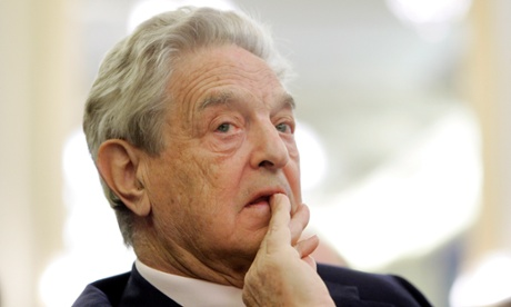 George Soros, says Putin has established good relations with those agitating against Europe.