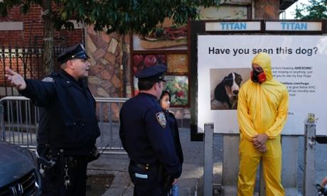 Ebola, New York