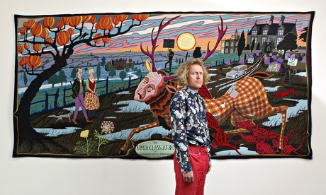 Grayson Perry, The Upper Class at bay (detail)