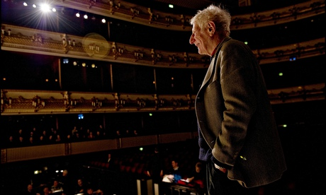 Jonathan Miller, pictured in the Royal Opera House in 2010.