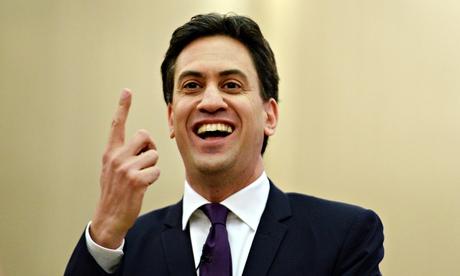 British Labour Leader Miliband speech