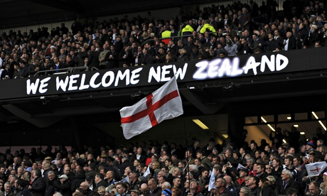 England v New Zealand, Britain - 8 Nov 2014